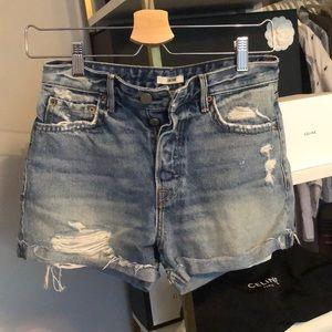 High Waist GRLFRND Kerry Shorts